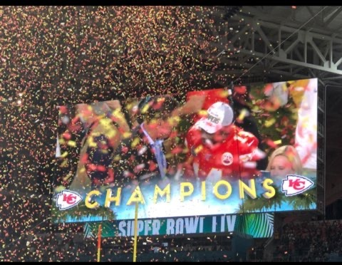 Kansas City Chiefs Super Bowl Victory