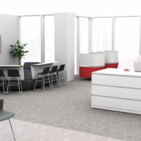 Office space render