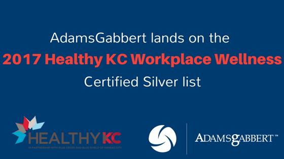 2017 Healthy KC Workplace Wellness Certified Silver List